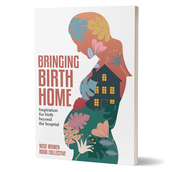 Pregnancy design with the title 'Book cover'