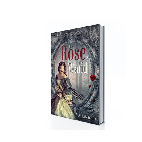 Princess design with the title 'The Rose and the Wand'