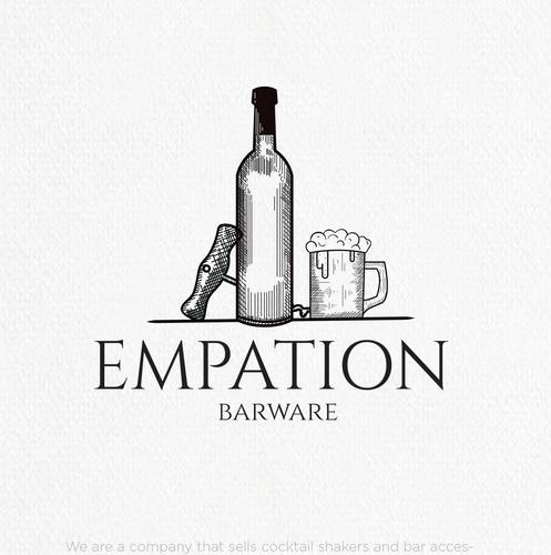 Neutral design with the title 'Bareware brand needs an elegant logo!'