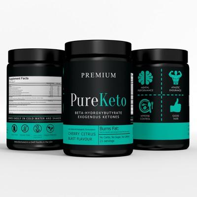 Pure Keto label
