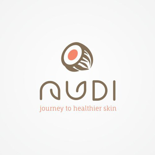 Gentle logo with the title 'Nudi logo'