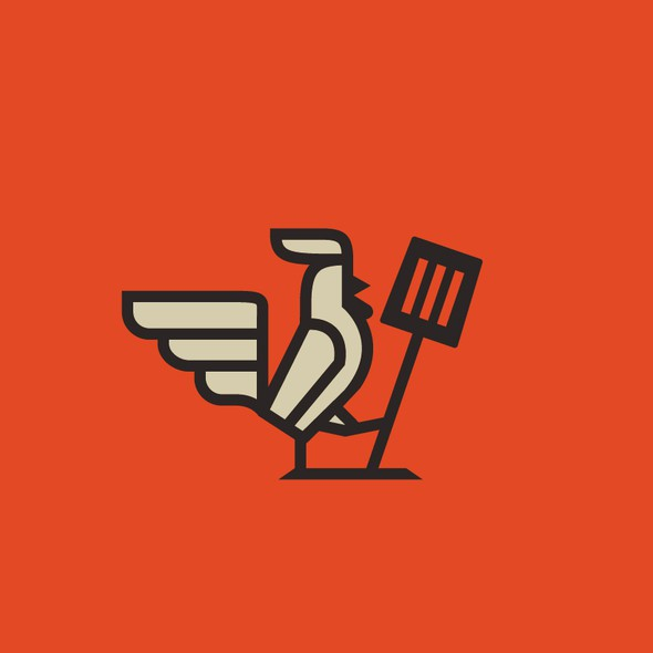 Cook design with the title 'Logo design'