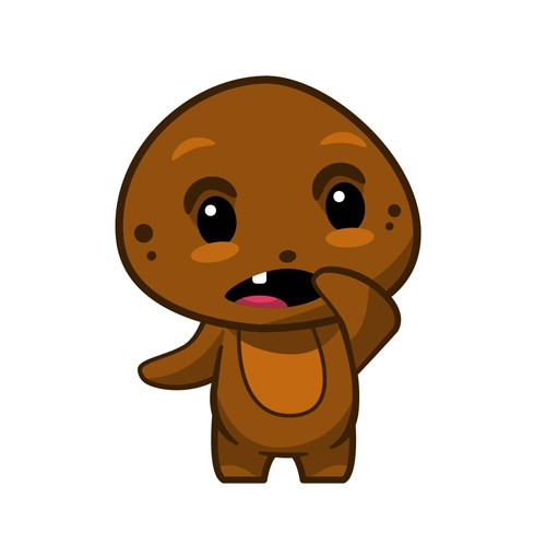 Emoji artwork with the title 'Emoji - Cookies'