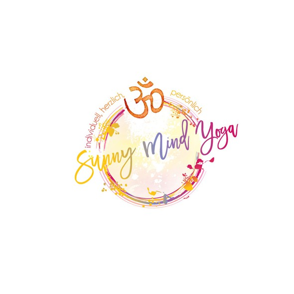 Sunny design with the title 'Yoga Logo'
