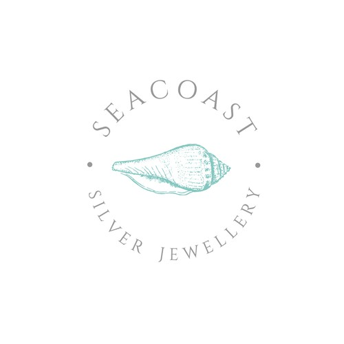 Shell logo with the title 'Nautical logo for upcoming jewellery brand  '