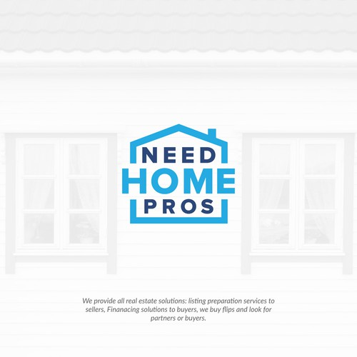 Mortgage logo with the title 'NeedHomePros'