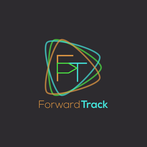 Forward logo with the title 'Logo for Forward Track'