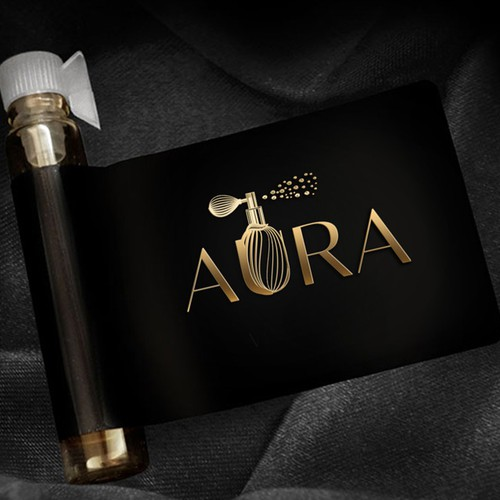 Aroma logo with the title 'AURA'