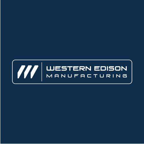 Welding logo with the title 'Metal Fabrication Company Logo'