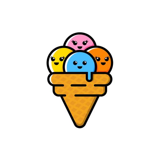 Ice Cream Logos The Best Ice Cream Logo Images 99designs