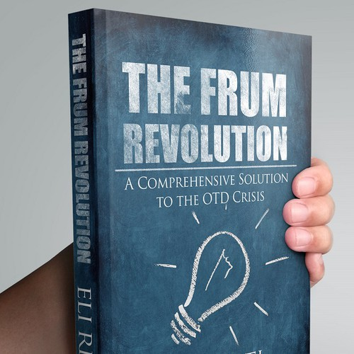 Education book cover with the title 'The frum revolution'