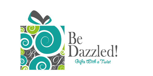 Wire design with the title 'Create an elegant, bright, eye catching logo for Be Dazzled!'