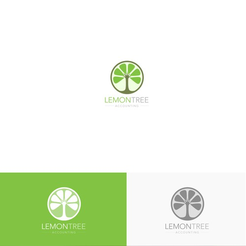 Bookkeeping logo with the title 'Lemon Tree Accounting'