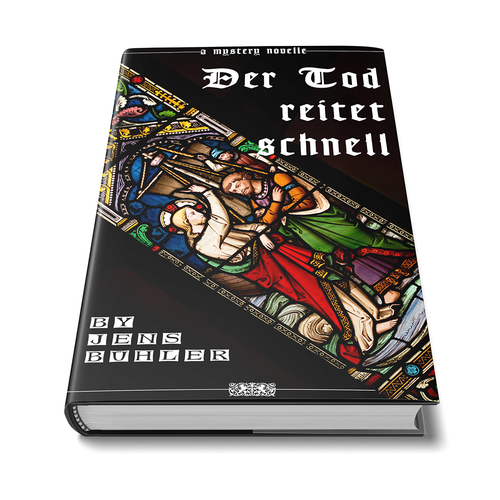 German book cover with the title 'Der Tod reitet schnell book cover'