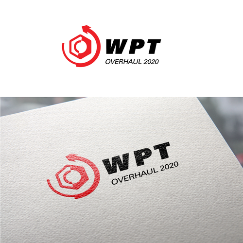 Maintenance logo with the title 'WPT Logo'