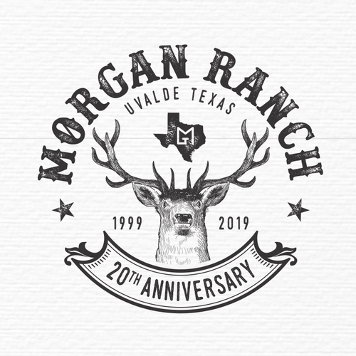 Austin logo with the title 'morgan ranch'