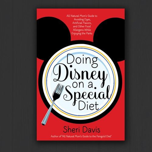 Culinary design with the title 'Doing Disney on a Special Diet'