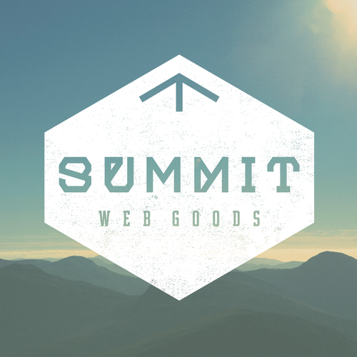 Peak design with the title 'Summit Hexa Logo'