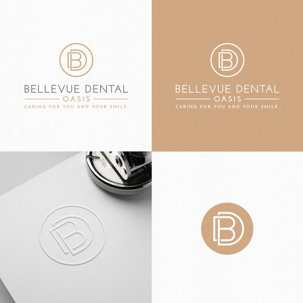 Smile brand with the title 'Bellevue Dental Oasis'