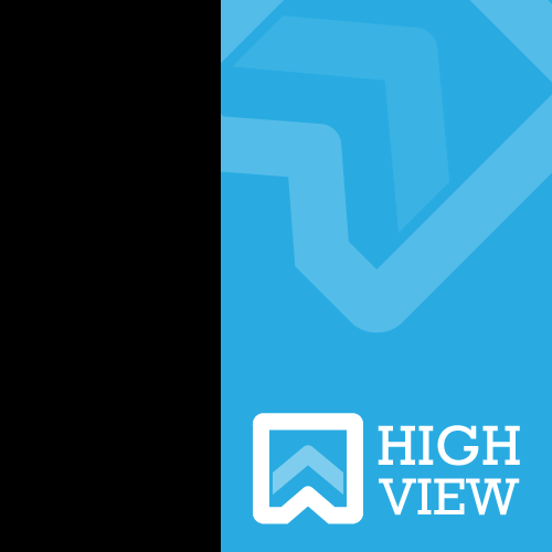 High design with the title 'HighView'