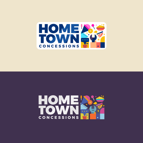 Carnival logo with the title 'Hometown Concessions'