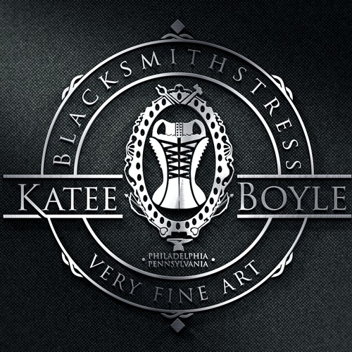 Hammer design with the title 'Katee Boyle'