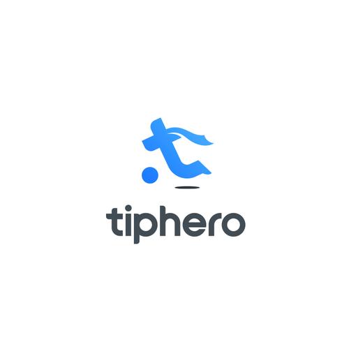 Hero logo with the title 'Logo for TipHero'