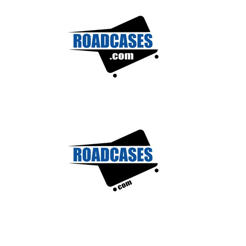 Case logo with the title 'Bold logo for heavy duty wheeled cases for music instruments and electronics'