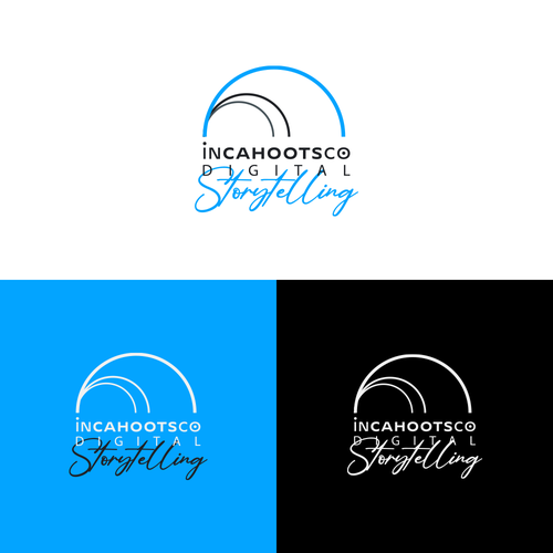 Communications design with the title 'In Cahoots Co logo design'