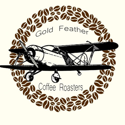 Airplane brand with the title 'Cofee'
