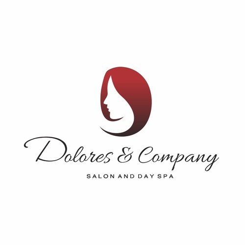 Beauty logo with the title 'Dolores & Company'