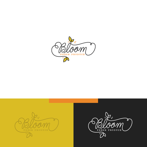 Bloom logo with the title 'Bloom logo.'