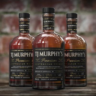 Premium Whisky Branding