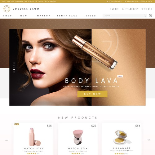 Beautiful website with the title 'E-Commerce Site'