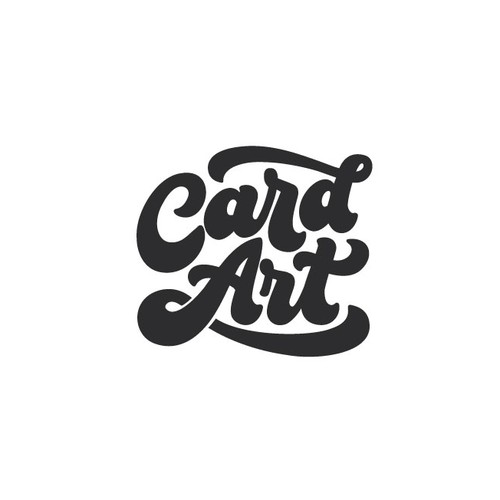 70s design with the title 'Wordmark for a creative brand'