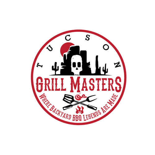 Tapas logo with the title 'Tucson grill masters logo'