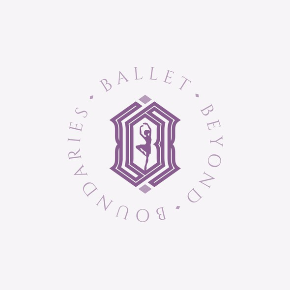 Ballet design with the title 'Ballet Logo / BBB Monogram'