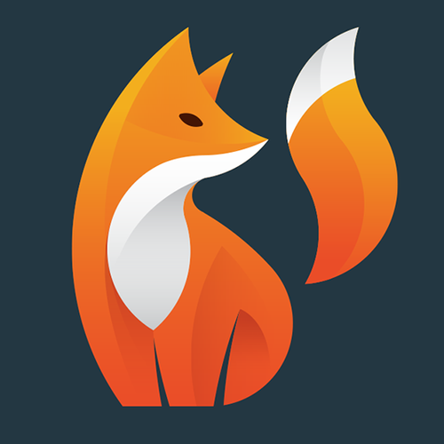 Foxy logo with the title 'Foxtag'