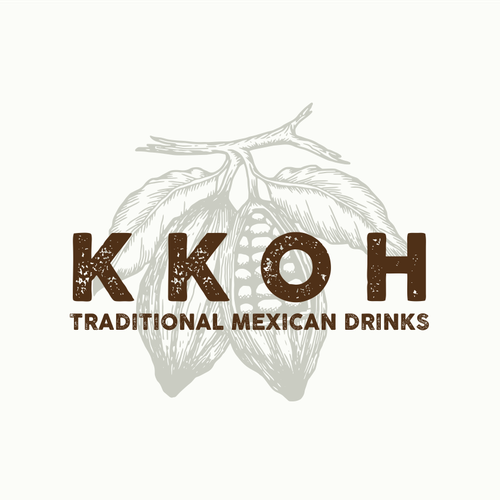 Cocoa logo with the title 'Design an incredible logo for Kkoh'
