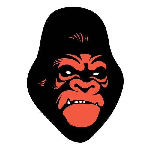 Club logo with the title 'logo for Gorilla Brewing.co'