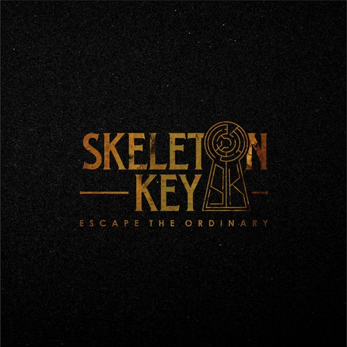 Key brand with the title 'Logo Concept for Skeleton Key'