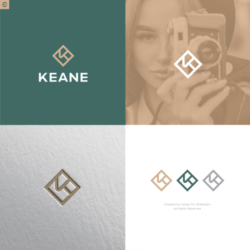 Logo with the title 'KEANE'