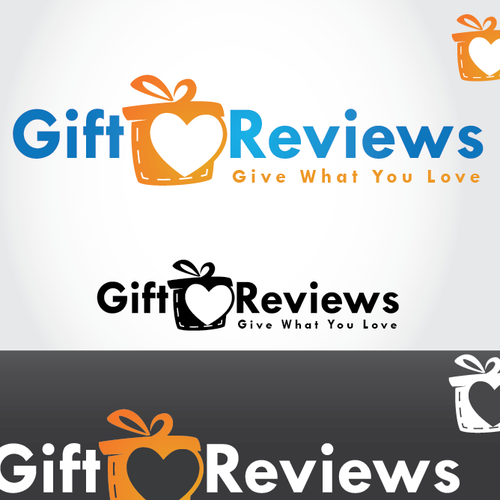 Review design with the title 'Gift Logo  '