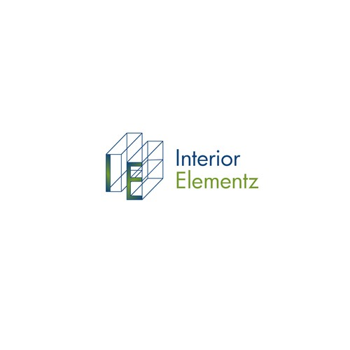 Toilet logo with the title 'Interior Elementz - Kitchen and Bath Cabinetry'