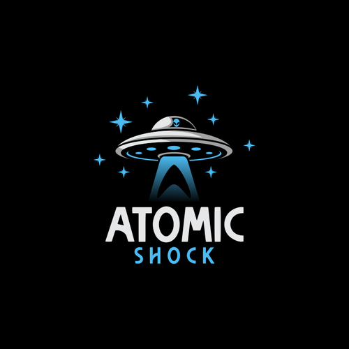 Alien logo with the title 'Logo for Atomic'