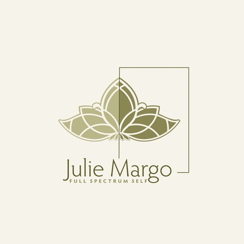 Spiritual logo with the title 'Spiritual personal logo design'