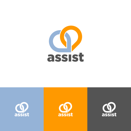 Direction logo with the title 'Assist logo'