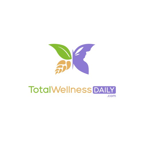 Health logo with the title 'TotalWellnessDaily.com'