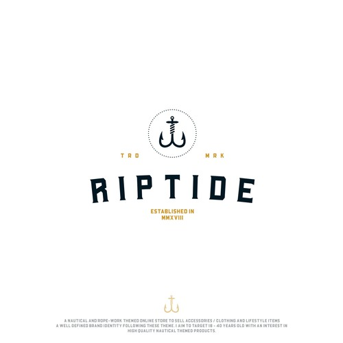 Rope logo with the title 'Riptide'