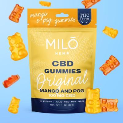 CBD gummies packaging design